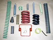 Examples of springs manufactured by Lion Springs