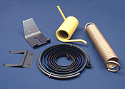 Examples of Compression & Tension Springs manufactured by Lion Springs